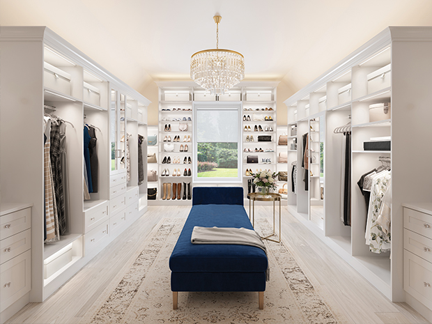 4 tips for the best closet lighting