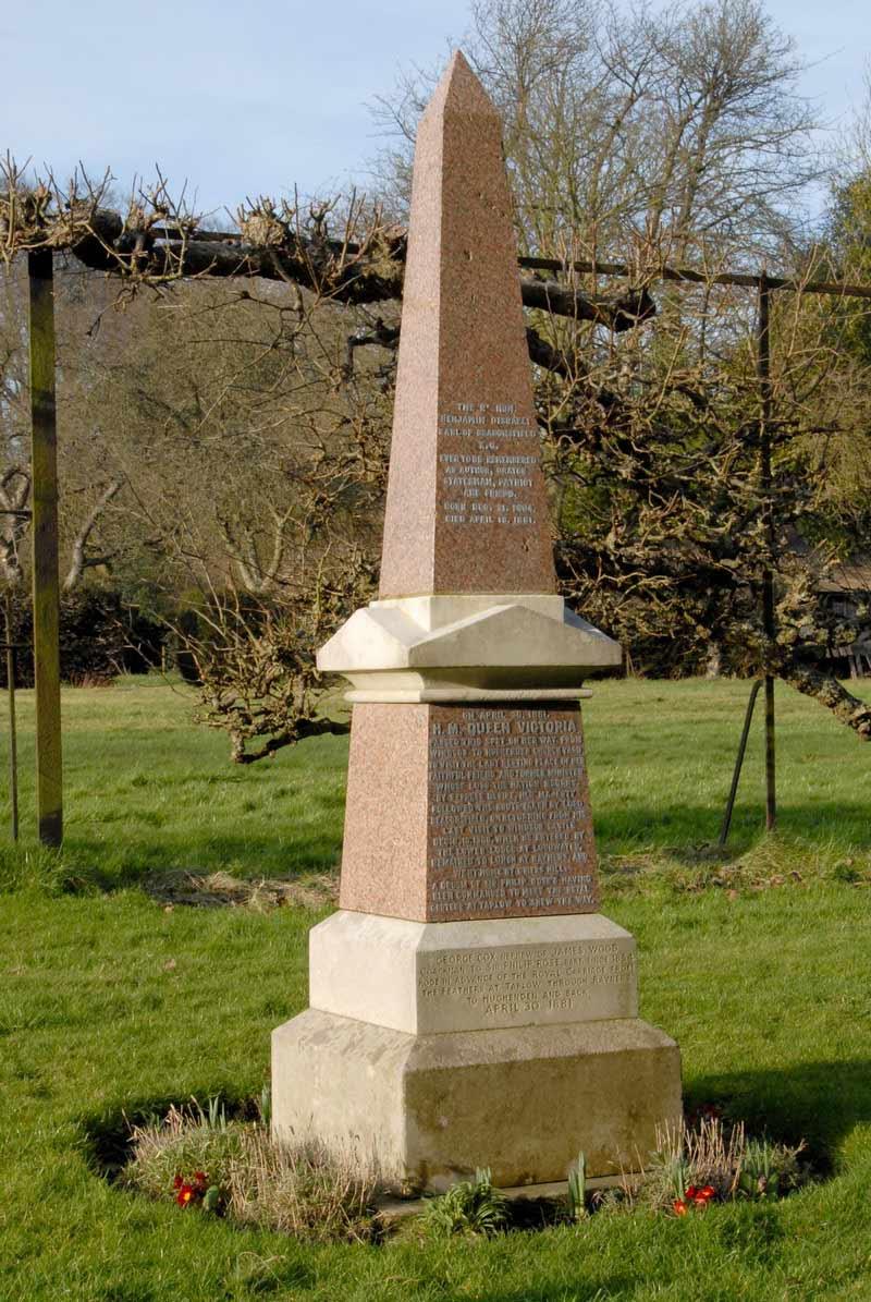 benjamin-disraeli-memorial