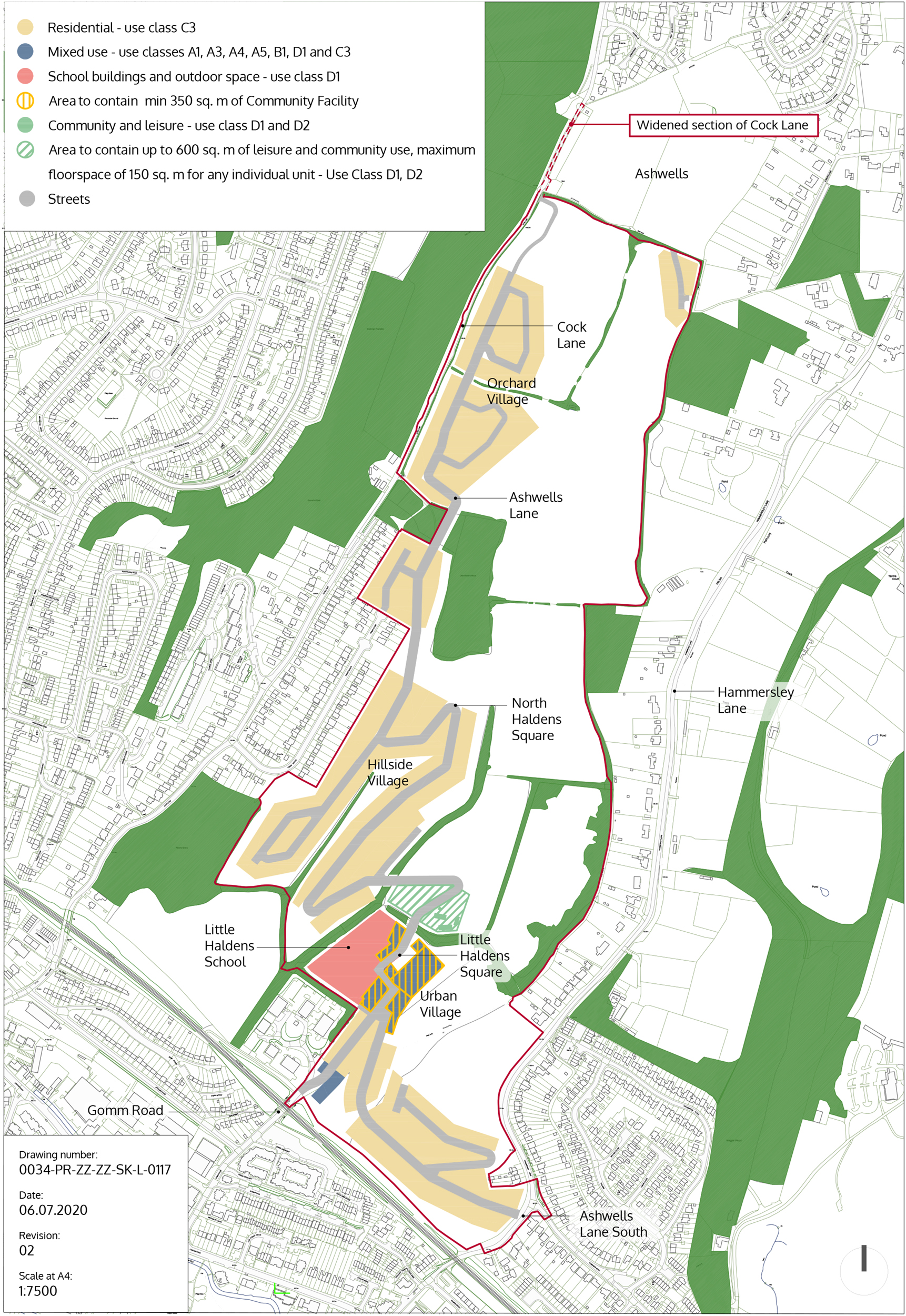 Human+Nature's Outline Planning application for Gomm Valley, 19/05281/OUTEA.       Summary of the views of the Penn and Tylers Green Residents Society
