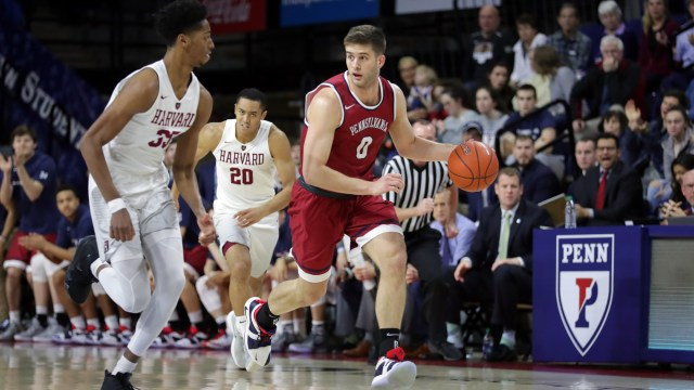 Image result for Yale Bulldogs vs. Pennsylvania Quakers College Basketball 2019