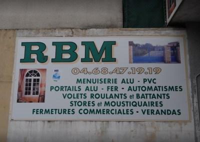 R.B.M. – Menuiserie/Alu/P.V.C.