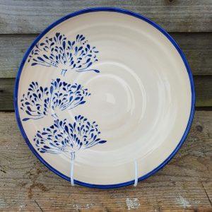 Agapanthus shallow bowl