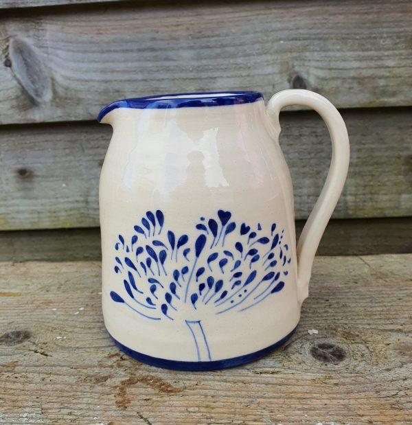 Agapanthus milk jug