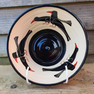 Cornish Chough Bowl – Small