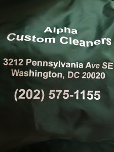 Alpha Custom Cleaners and Tailors