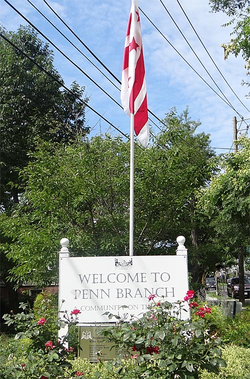 penn-branch-sign-with-flag