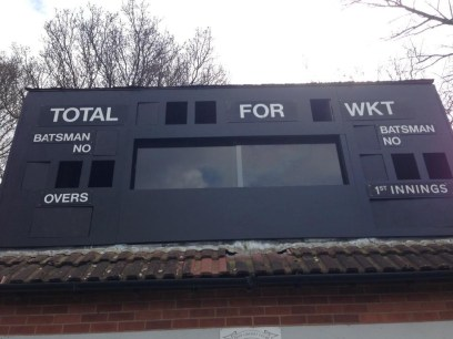 New refaced scorebox