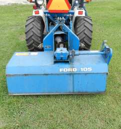 ford 1220 compact utility tractor 3pth 16hp diesel 1 330hrs hydro static drive [ 1024 x 768 Pixel ]
