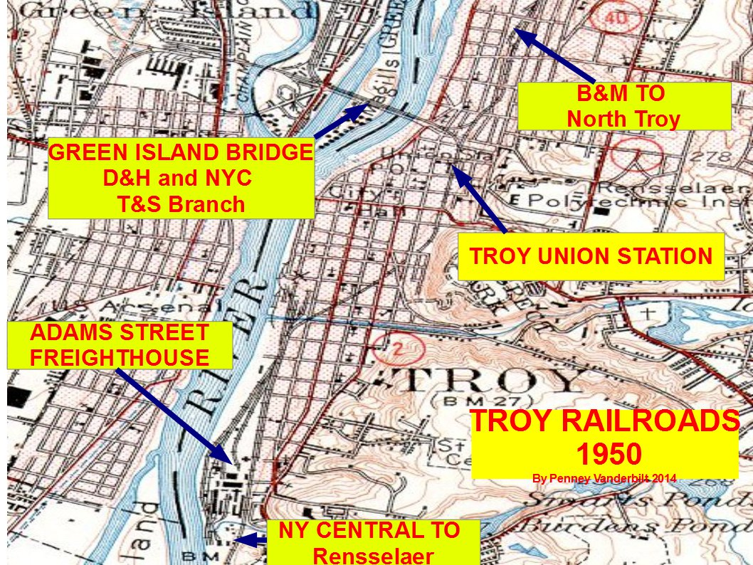 The End Of The Troy Union Railroad