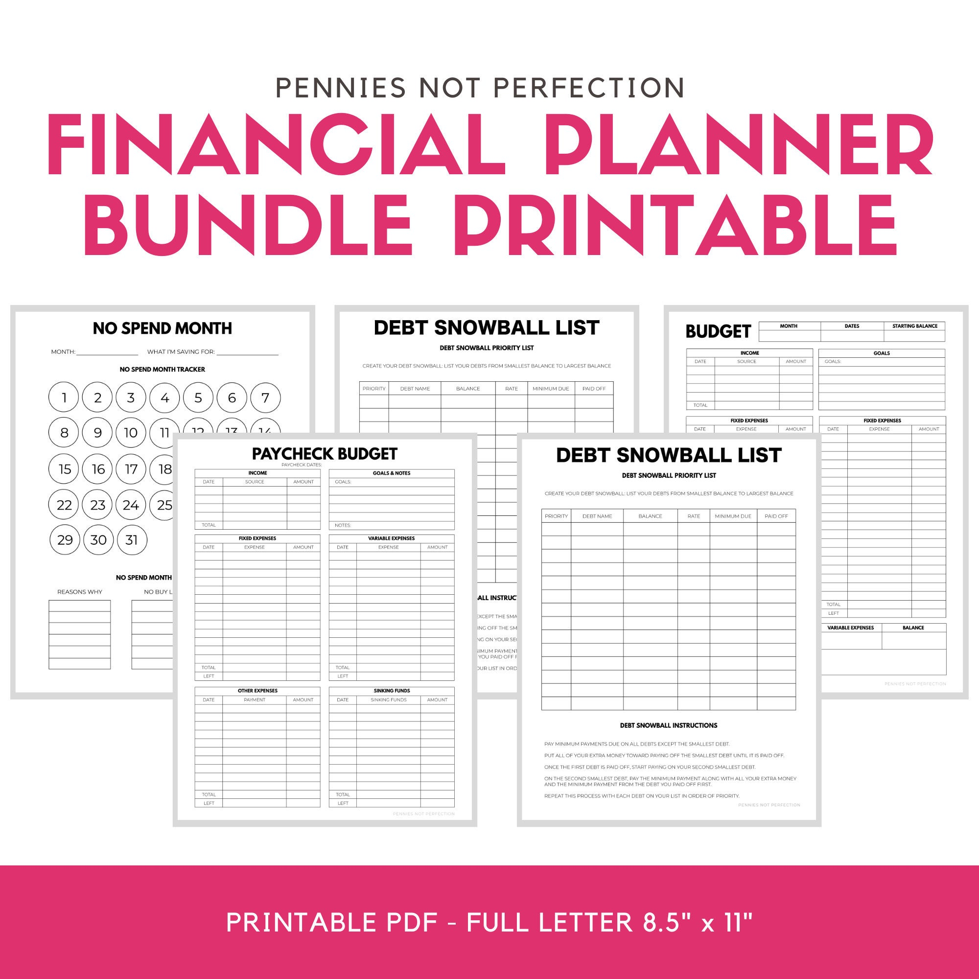 Budgeting Bundle