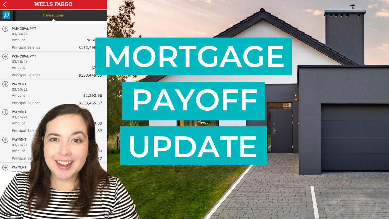 mortgage payoff update paying off our home mortgage