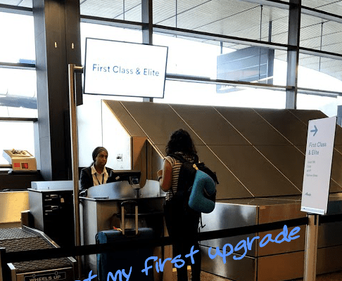 How I got my first ever upgrade with Alaska Airlines