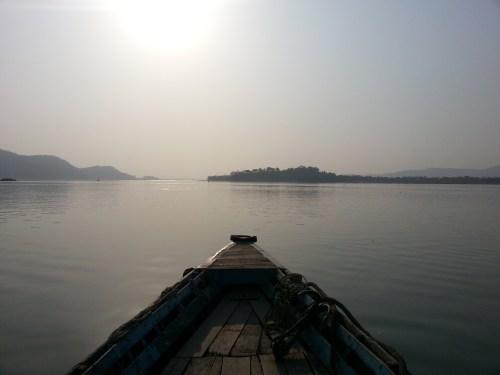 Loktak Lake, Manipur, India, 2014