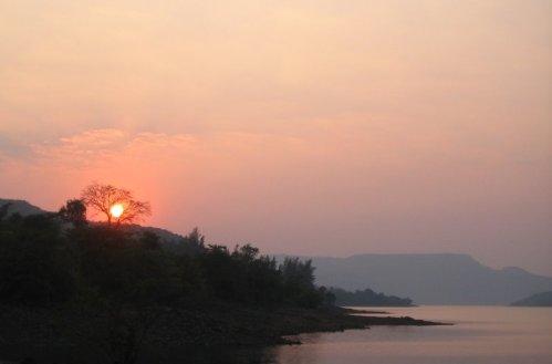 Bhatghar Dam, Maharashtra, India, 2009