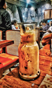 Nutella Bubble Tea Khao Suey Gurgaon