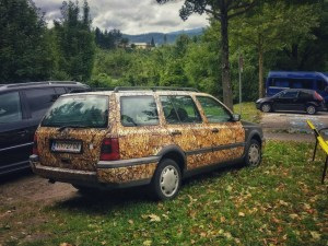 weird car in villach