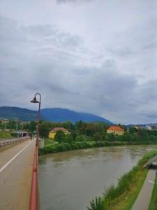 beautiful mountain views from Villach