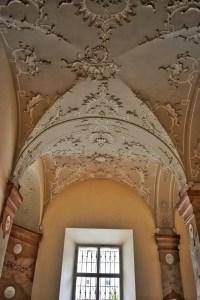 baroque in mirabell palace, salzburg, austria