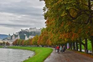 Scenic views in Salzburg, Austria