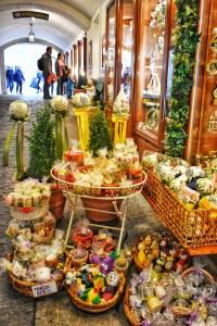 Old Town Market, Salzburg, Austria