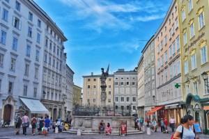 Alter Markt Salzburg, Austria