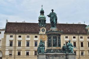 Statue Of Francis II, Hofburg, Vienna, Austria