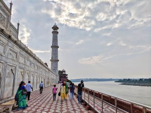 Located by the banks of River Yamuna, is Taj Mahal in Agra. Places to see in India