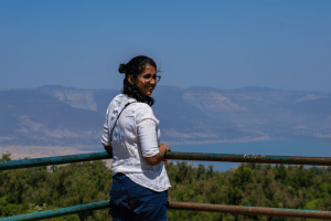 Ajita Mahajan aka Penning Silly Thoughts at Triveni View Point in Mahabaleshwar