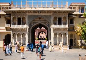Rajendra Pol at City palace Jaipur