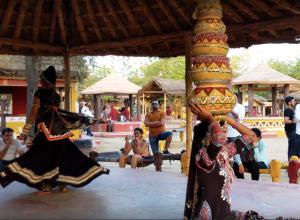 Traditional Rajasthani Dance at Chokhi Dhani in Jaipur, Rajasthan