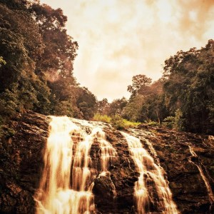 Abbey Falls in Coorg - Long exposure