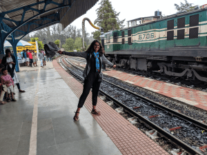 Nilgiri Toy train in Ooty