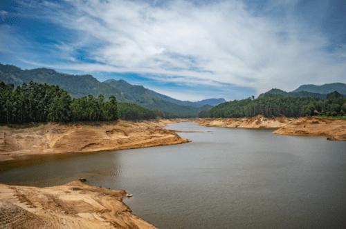 Mattupetty Dam in Munnar, Kerala, God's Own Country