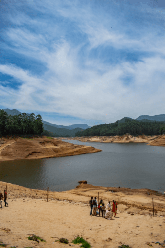 Water reservoir at Mattupetty Dam