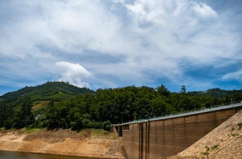 Bridge passing over Mattupetty Dam