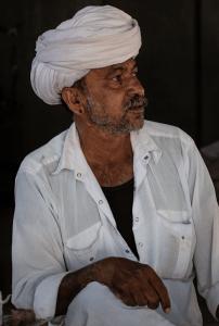 Head of a Bishnoi family (Salawas village in Jodhpur)