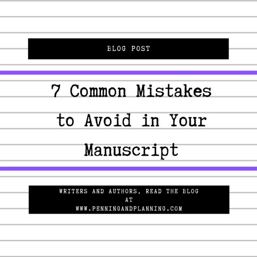 7 common mistakes to avoid in your manuscript