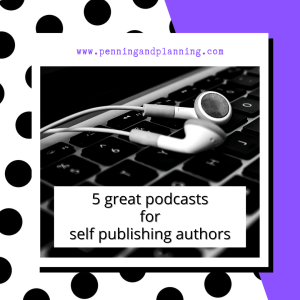 5 great podcasts for self publishing authors