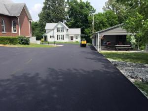 Asphalt parking lot repave for southern Illinois church | Penninger Asphalt Paving, Inc
