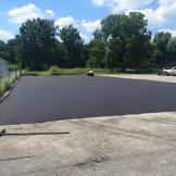 New asphalt pad | Penninger Asphalt Paving, Inc