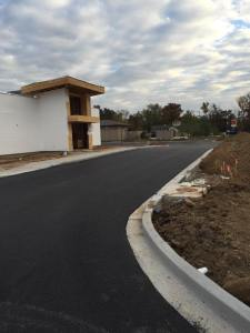 New parking lot for Fujiyama restaurant in Carbondale Illinois | Penninger Residential & Commercial Asphalt Paving