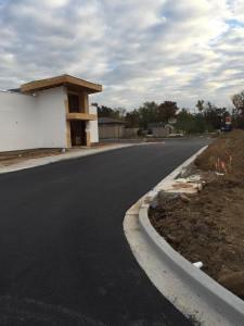 New parking lot for Fujiyama restaurant in Carbondale Illinois | Penninger Residential & Commercial Asphalt Paving