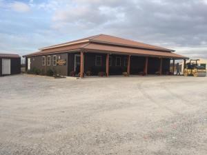 Asphalt Commercial Parking Lot in Mounds, IL, BEFORE | Penninger Asphalt Paving, Inc