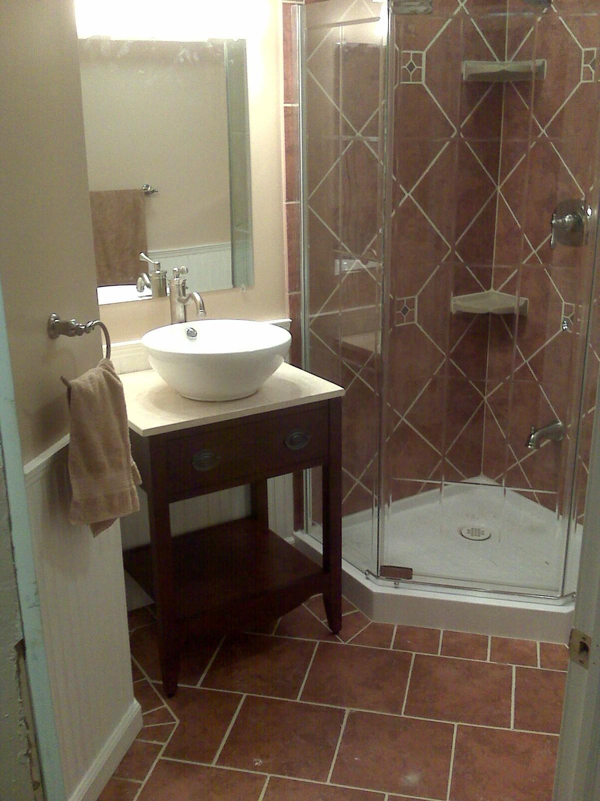 Basement Bathroom Addition  Pennington Millworks