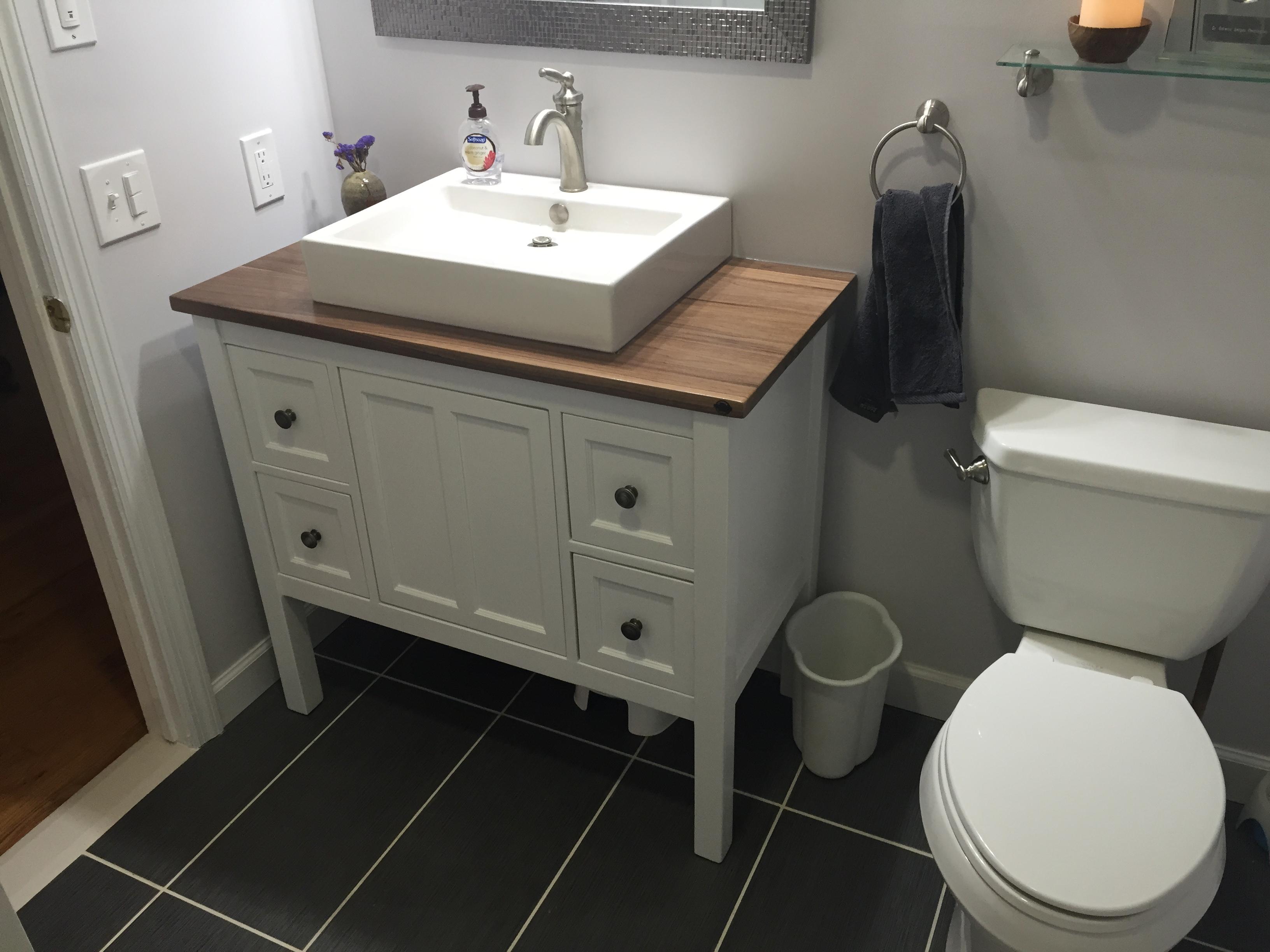 Shaker Style Bathroom Vanity  Pennington Millworks