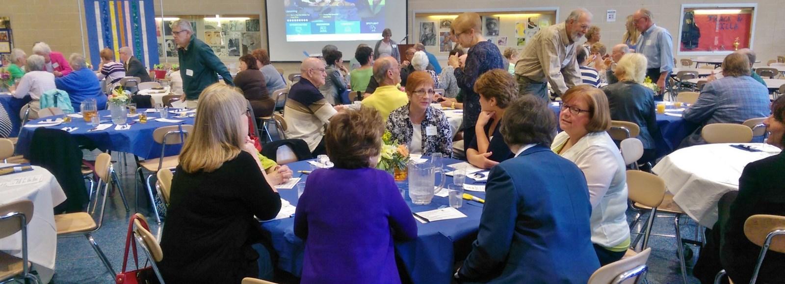 Foundation hosts Penn Manor retirees at annual breakfast