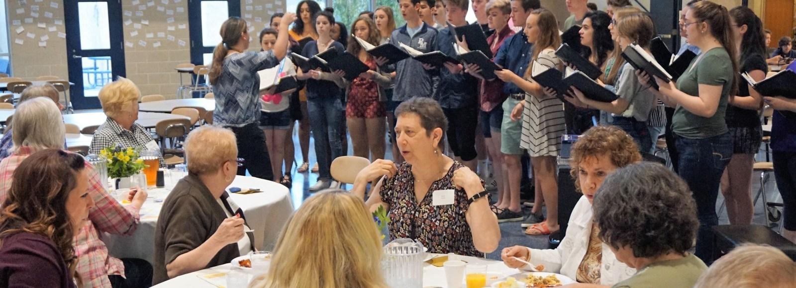 Penn Manor retirees enjoy 13th annual breakfast
