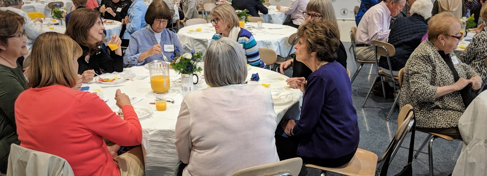 Familiar faces gather for 2019 Penn Manor Retiree Breakfast
