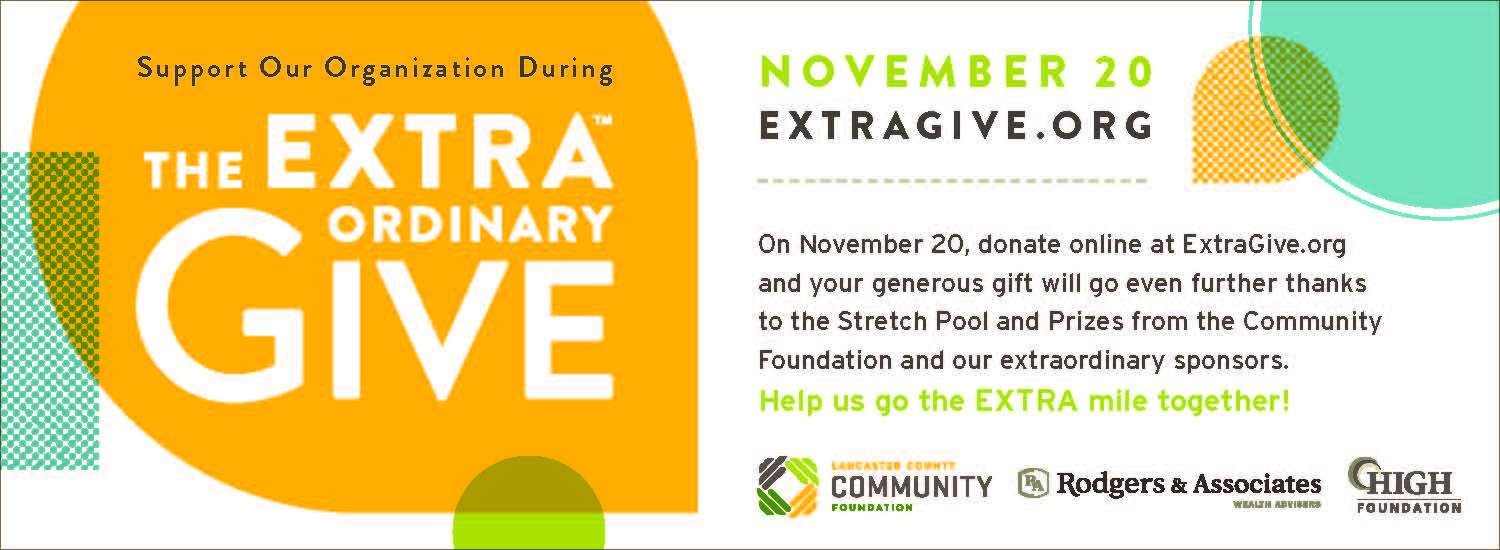 Annual Dinner canceled for 2020, but you can participate in Extra Give on November 20