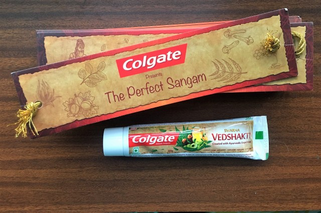 colgate new swarna vedshakti toothpaste